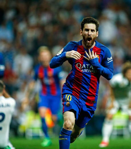 Briljante Messi leidt Barcelona met 500ste goal langs Real Madrid