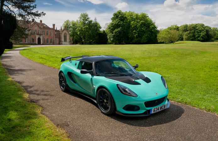 Een van de huidige modellen van Lotus: de Elise Cup 250