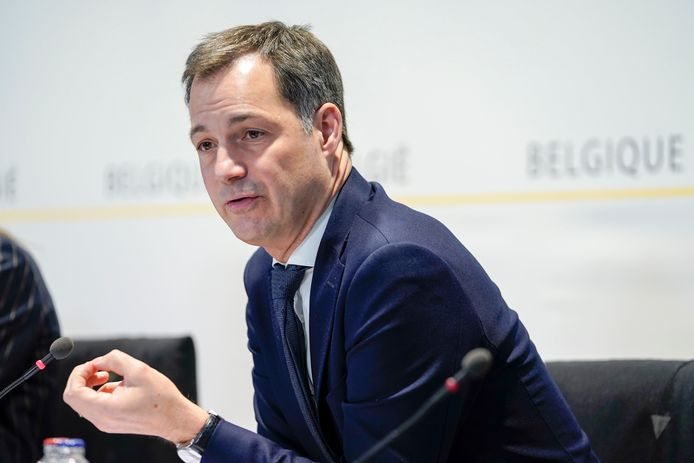 Le ministre fédéral des Finances, Alexander De Croo (Open Vld).