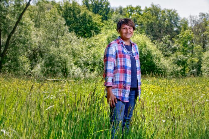 Simone de Kort werkt als ervaringsdeskundige voor RIBW op de Catharinenberg in Oisterwijk.