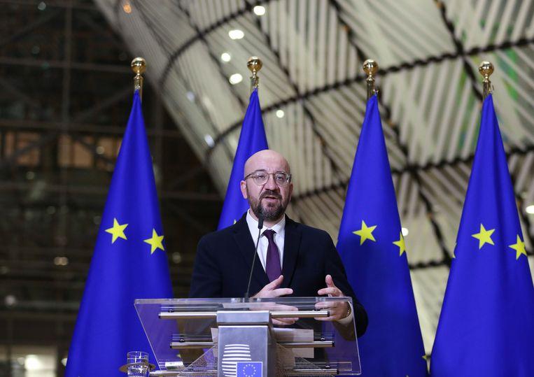 Europese Raadsvoorzitter Charles Michel