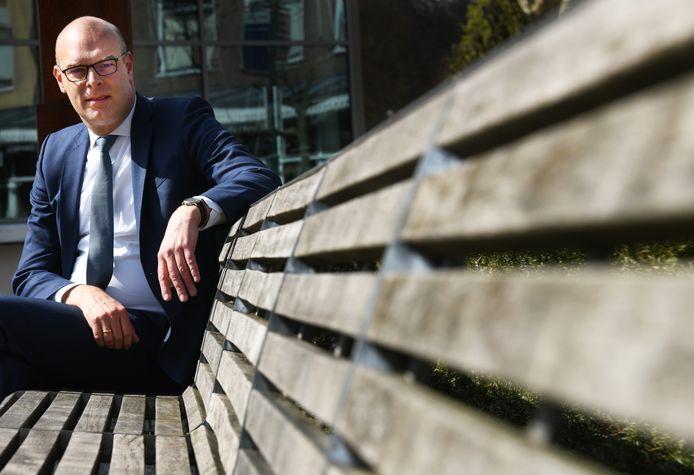 Wethouder Gerrit Boonzaaijer van financiën van Utrechtse Heuvelrug.