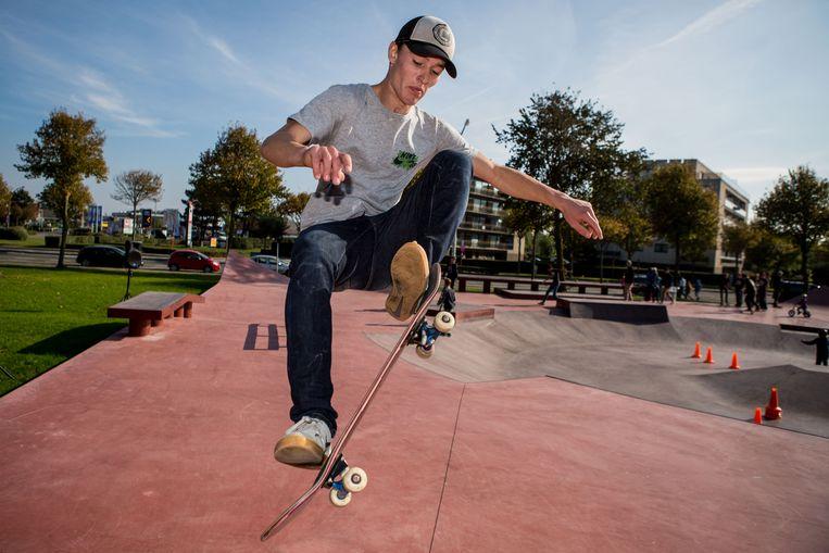 Archiefbeeld skatepark Blankenberge
