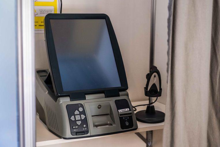 Een stemcomputer