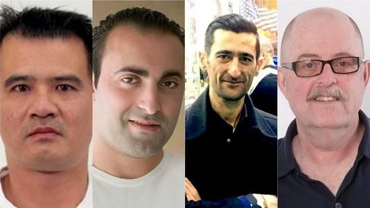 Tuan Nguyen, Mijkel Akfidan, Artur Sargsyan en Max Klaassen