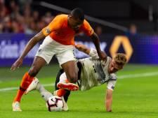 Trotse debutant Dumfries: Onwerkelijk dat ik speler van Oranje ben
