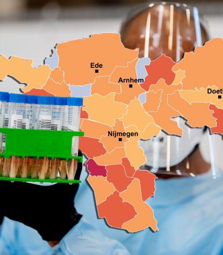 CORONAKAART | Met nul (!) besmettingen in Mook en Middelaar gaat 't de goede kant op; bekijk hier hoe het in jouw regio zit