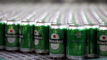 Heineken profiteert van warme zomer