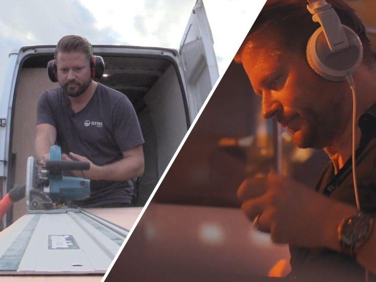 DJ laat zich door corona omscholen tot klusjesman: 'Werk nu met andere platen'