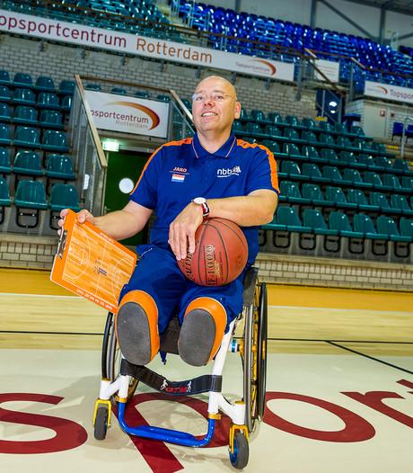 Gertjan van der Linden nieuwe coach basketbalsters Batouwe