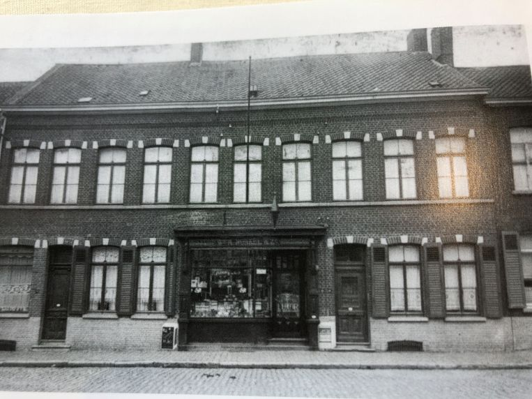 Drukkerij Nonkel in de jaren rond de opstart in 1909.