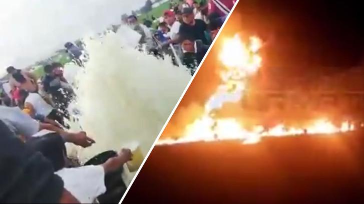 20 doden bij explosie Mexico: bendes tappen illegaal gas af