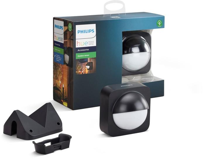 Deze sensor doet je Hue-buitenverlichting aanknippen.