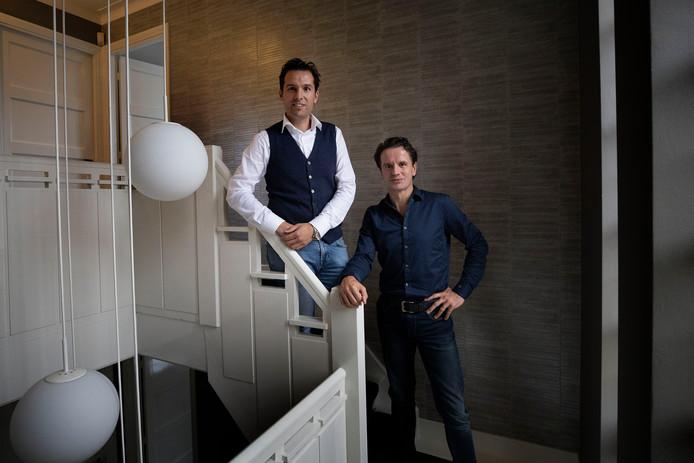 Bram van den Heuvel (l.) en Pieter van den Tillaart: 'ondernemen samen met de ondernemer'.