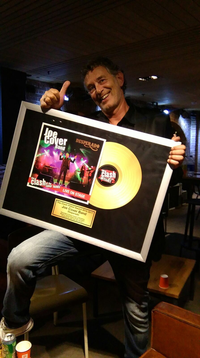 Award Best Single voor Joe Cover band