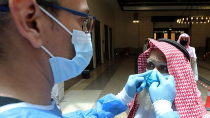 Meer dan 100.000 coronabesmettingen in Saudi-Arabië