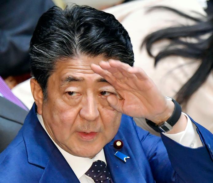 Shinzo Abe, Premier japonais