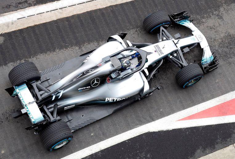 De W09 op Silverstone.