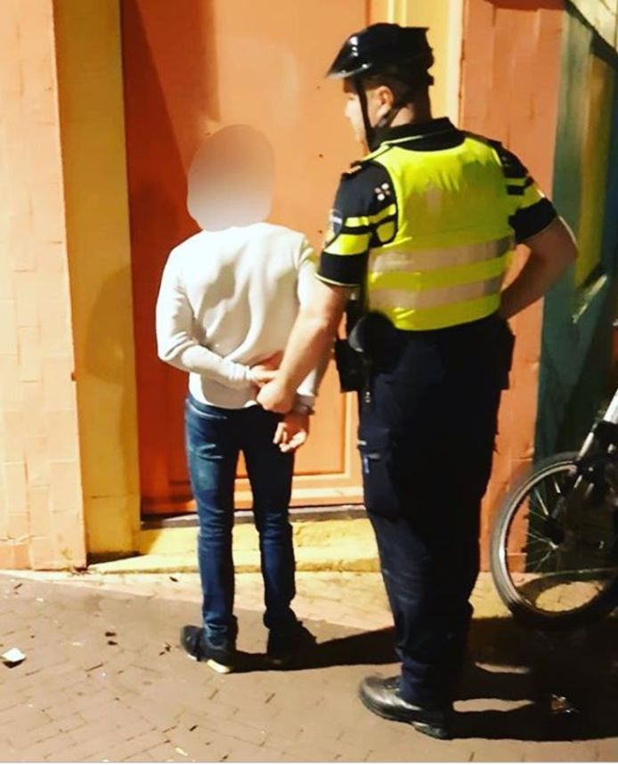 De 27-jarige Drutenaar kon snel worden aangehouden.
