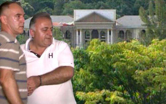 Joseph 'Sheik' Nasrallah (rechts) werd in Brazilië bekend door zijn villa van 40 miljoen dollar waarin een gouden badkuip stond.