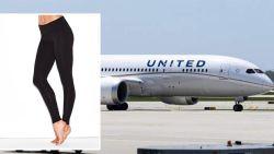 United Airlines weigert vrouwen met leggings: boze sterren boeken hun vluchten om
