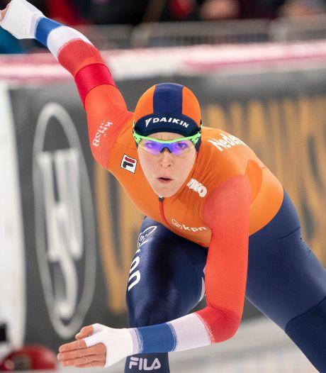 Olympisch kampioene Ter Mors is vrij van pijn en richt zich nu al op Winterspelen 2022