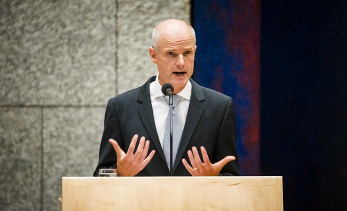 Minister Stef Blok (Buitenlandse Zaken).