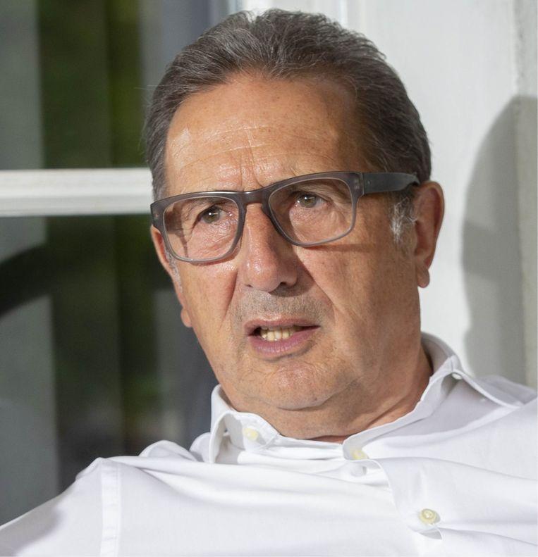 Georges Leekens: 'Ik ben één van de weinigen die het ooit aangedurfd heeft om tegen Eden Hazard in te gaan.' Beeld