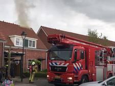 Schoorsteenbrand aan Julianastraat in Oldenzaal