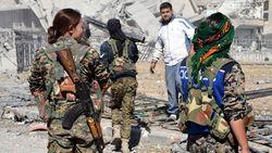Koerdische strijders roepen overwinning op Raqqa uit
