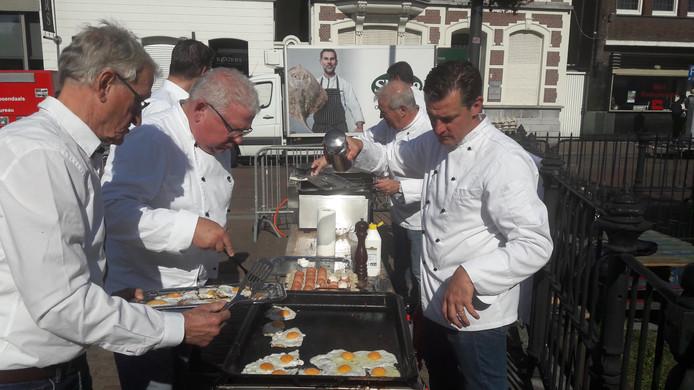 De vrijwillige koks