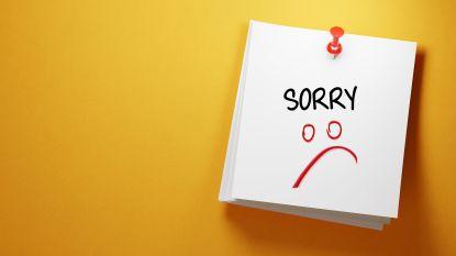 Zeg eens sorry: zo maak je de gepaste excuses