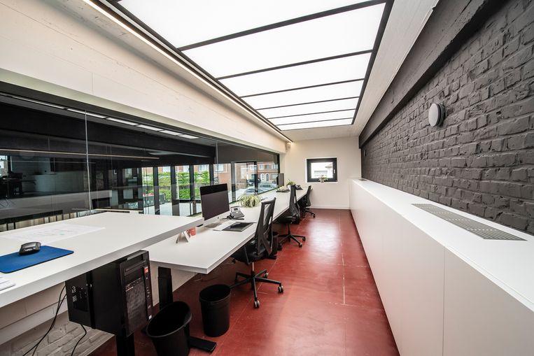 Op de bovenverdieping liggen de kantoren. Ook hier kun je inspiratie opdoen.