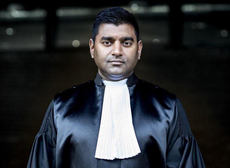 Officier van Justitie Roy Nanhkoesingh Beeld Linelle Deunk
