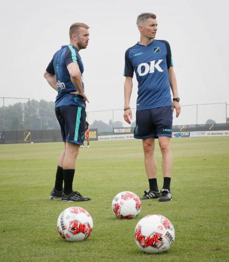 Trainer Willem Weijs maakt snel naam bij NAC