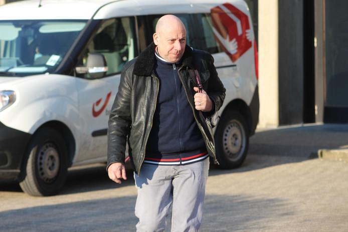 Philip Calleeuw, vorig jaar, bij het verlaten van de rechtbank in Brugge.