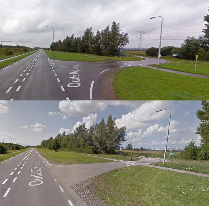 De Bathpolderweg was tot enkele jaren geleden nog rechtstreeks aangesloten op de N289.
