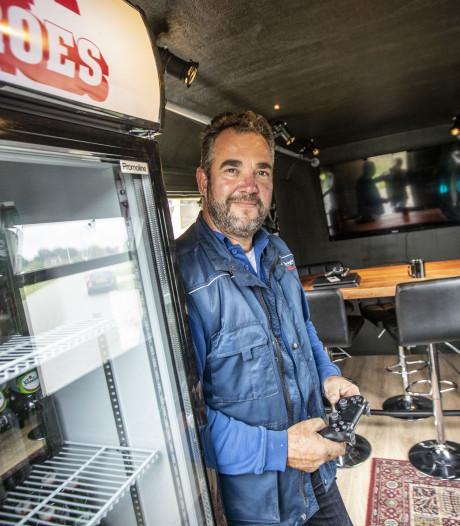 Michael uit Hengelo wint na miskoop nu de 'meest luxe schaftkeet van de wereld'