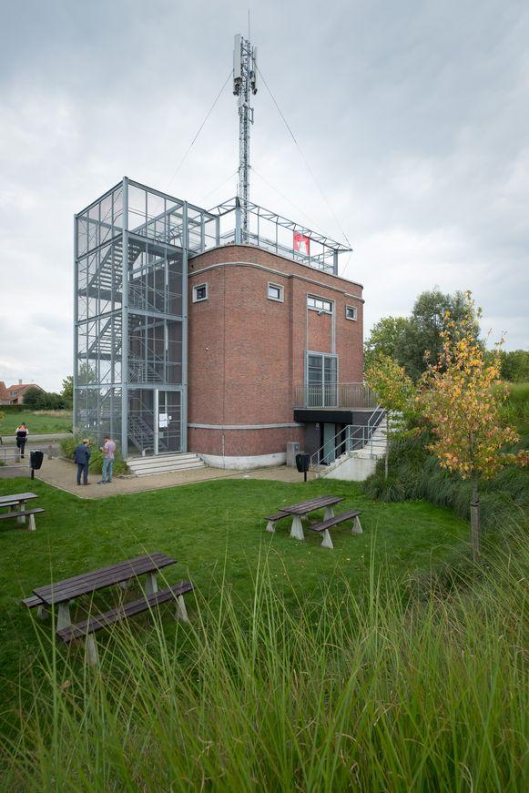 De watertoren in de Rumstsestraat is één van de deelnemende locaties aan de Rupelzondagen.
