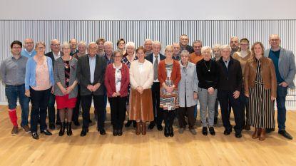 Feestelijke ontvangst in het gemeentehuis voor 50ste verjaardag ACV-metaal