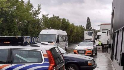 18 vrachtwagens in beslag genomen na controleactie bij RV Transport in Geluwe