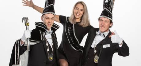 Dit zijn de nieuwe hoogheden van de jongerencarnavalsclub in Albergen
