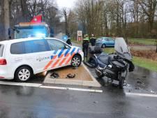 Motorrijder belandt in ziekenhuis na aanrijding in Enschede