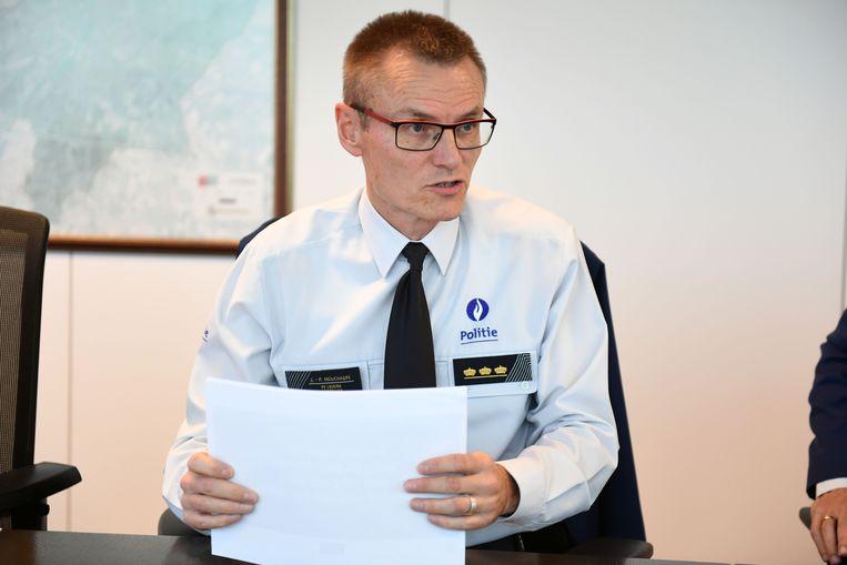 Korpschef Jean-Paul Mouchaers is ervan overtuigd dat een toegangsverbod voldoende gecontroleerd kan worden door de Leuvense politie.
