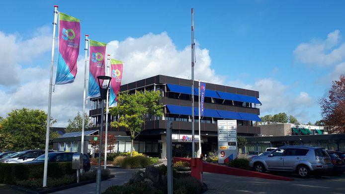 Het hoofdkantoor van Soweco aan de Plesmanweg.