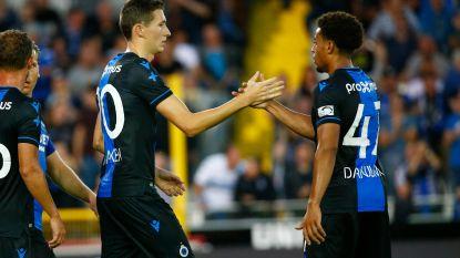 Club Brugge wint genietbare Brugse Metten na penalty's van Sporting Lissabon