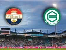 Willem II op zoek naar goede vorm tegen FC Groningen