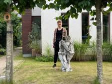 Jonge kunstenaars bezetten tuinen van Gentbruggenaren