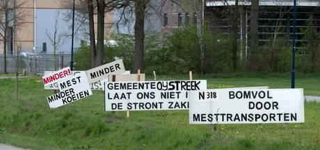 Gemeente Oude IJsselstreek verwijdert protestborden