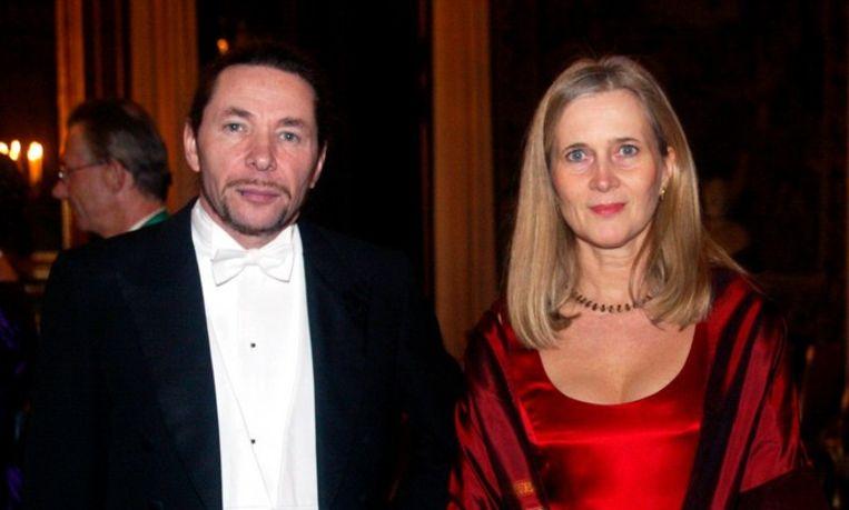 Katarina Frostenson (rechts) en haar echtgenoot Jean-Claude Arnault.